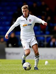 Josh Vela of Bolton Wanderers - Mandatory by-line: Matt McNulty/JMP - 15/04/2017 - FOOTBALL - Boundary Park - Oldham, England - Oldham Athletic v Bolton Wanderers - Sky Bet League 1