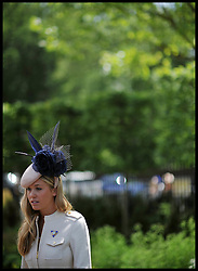Prince Harry's former flame Florence Brudenell-Bruce arrives at Day 2 of Royal Ascot, Wednesday June 20, 2012. Photo by Andrew Parsons/i-Images..All Rights Reserved ©Andrew Parsons/i-Images .See Special Instructions