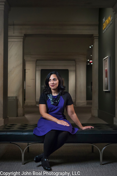 Leslie Ureña, assistant curator of photographs, National Portrait Gallery. For Northwestern University Alumni Magazine