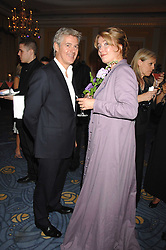 EMMA THOMPSON and JOHN FRIEDA at the 10th Anniversary Party of the Lavender Trust, Breast Cancer charity held at Claridge's, Brook Street, London on 1st May 2008.<br />