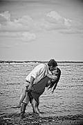 Logan and Erin Engagement | Atlantic Beach NC Photographers