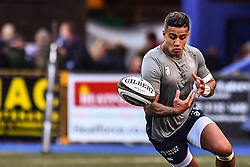 Cardiff Blues' Rey Lee-Lo during the pre match warm up - Mandatory by-line: Craig Thomas/Replay images - 31/12/2017 - RUGBY - Cardiff Arms Park - Cardiff , Wales - Blues v Scarlets - Guinness Pro 14