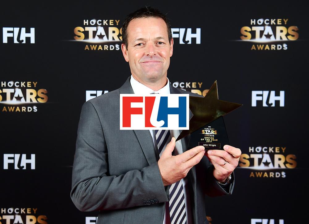 BERLIJN - FIH Hockey Stars Awards<br /> Foto: Best Umpire<br /> John Wright<br /> WORLDSPORTPICS COPYRIGHT FRANK UIJLENBROEK