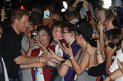 September 27, 2017 - Toronto, Canada - Image licensed to i-Images Picture Agency. 26/09/2017. Toronto, Canada. Prince Harry arriving at an Invictus Games Foundation reception  on day four of the  Invictus Games in Toronto, Canada.  Picture by Stephen Lock / i-Images (Credit Image: © Stephen Lock/i-Images via ZUMA Press)