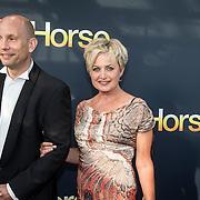 NLD/Amsterdam/20140614 - Inloop premiere Warhorse, Vera Mann en partner