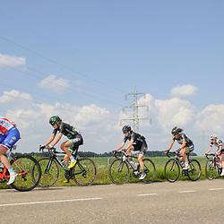 03-09-2017: Wielrennen: Boels Ladies Tour: Sittard<br /> Vroege kopgroep op de Dorpsstraat