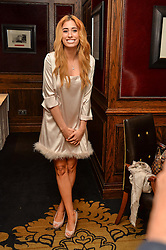 "STACEY SOLOMAN at a party to celebrate the publication of ""Lady In Waiting: The Wristband Diaries"" By Lady Victoria Hervey held at The Goring Hotel, Beeston Place, London on 9th May 2016."