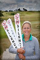 ZANDVOORT - Nicole van Breda Vriesman, commisiielid van de Kennemer voor de organisatie KLM Open. COPYRIGHT KOEN SUYK
