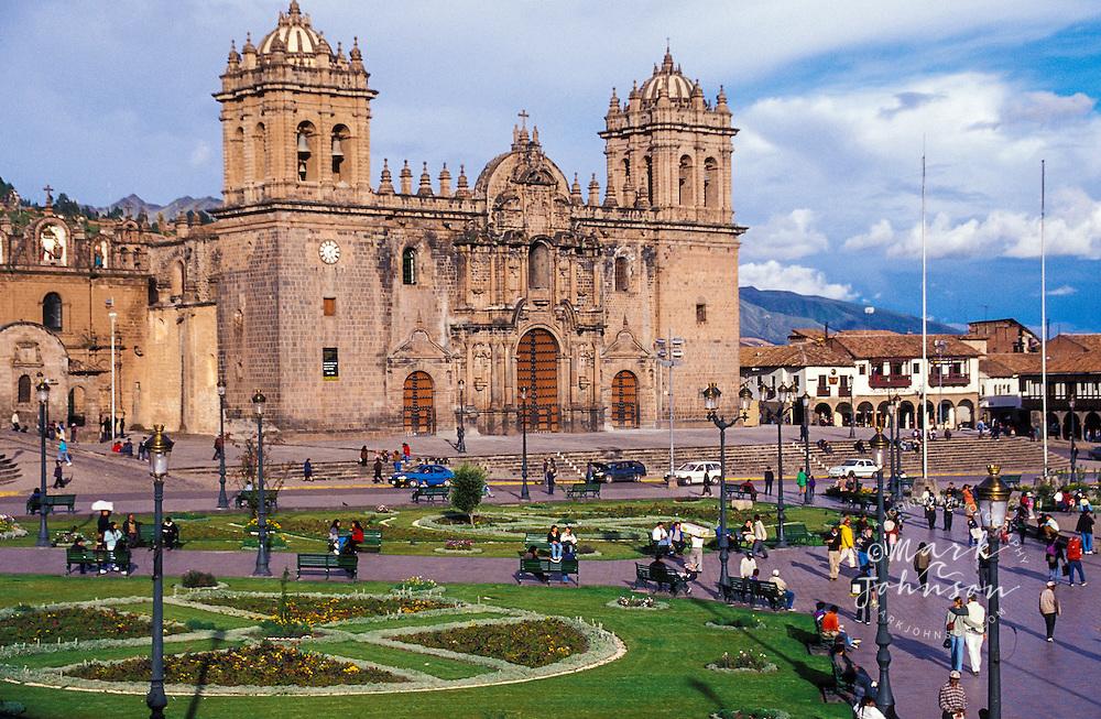 Peru, Cusco, Plaza de Armas
