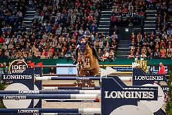 STAIS Alexa (RSA), Quintato<br /> Leipzig - Partner Pferd 2020<br /> Longines FEI Jumping World Cup™ presented by Sparkasse<br /> Sparkassen Cup - Großer Preis von Leipzig FEI Jumping World Cup™ Wertungsprüfung <br /> Springprüfung mit Stechen, international<br /> Höhe: 1.55 m<br /> 19. Januar 2020<br /> © www.sportfotos-lafrentz.de/Stefan Lafrentz