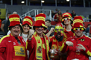 Fans of Spain during the EHF 2018 Men's European Championship, 1/2 final Handball match between France and Spain on January 26, 2018 at the Arena in Zagreb, Croatia - Photo Laurent Lairys / ProSportsImages / DPPI
