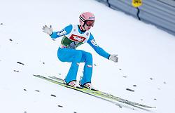 03.01.2015, Bergisel Schanze, Innsbruck, AUT, FIS Ski Sprung Weltcup, 63. Vierschanzentournee, Training, im Bild Stefan Kraft (AUT) // Stefan Kraft of Austria in action during Trial Jump of 63 rd Four Hills Tournament of FIS Ski Jumping World Cup at the Bergisel Schanze, Innsbruck, Austria on 2015/01/03. EXPA Pictures © 2015, PhotoCredit: EXPA/ Peter Rinderer