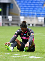 Football - 2019 / 2020 Sky Bet EFL Championship - Cardiff City vs. Leeds United<br /> <br /> Title chasing Leeds players look despondent after the final whistle in a match they lost 2-0, played in an empty stadium duet o Covid 19 emergency powers restrictions, at Cardiff City Stadium.<br /> <br /> COLORSPORT/WINSTON BYNORTH