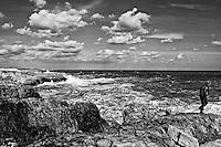 Polignano a mare - mare in tempesta - 15 ottobre 2011
