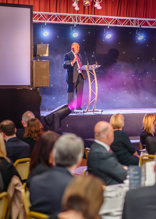 Scottish Border of Chamber Border Busines awards, 2017, held at Springwood Hall. Cllr.  Mark Rowley