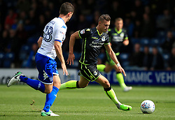 Billy Bodin of Bristol Rovers takes on Alex Bruce of Bury - Mandatory by-line: Matt McNulty/JMP - 19/08/2017 - FOOTBALL - Gigg Lane - Bury, England - Bury v Bristol Rovers - Sky Bet League One