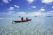 Kayak, Aitutaki, Cook Islands<br />