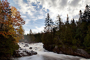 Les Chutes-Croches in Mont Tremblant National Park. PHOTO BY TIM SNOW