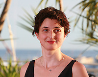Alice Rohrwacher winner of the  Grand Prix for the film Le Meraviglie (The Wonders) at the Palme d'Or winners photo call at the 67th Cannes Film Festival, Saturday 24th May 2014, Cannes, France.