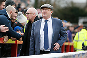 Accrington Stanley owner Andy Holt during the The FA Cup fourth round match between Accrington Stanley and Derby County at the Fraser Eagle Stadium, Accrington, England on 26 January 2019.
