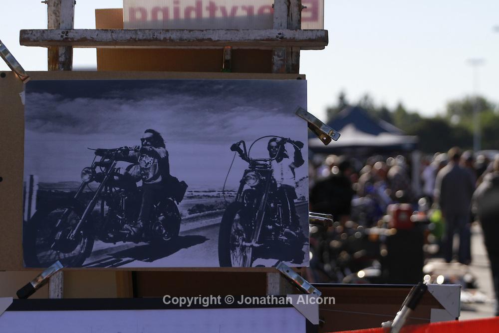 Long Beach Motorcycle Swap Meet on November 11, 2012 ©Jonathan Alcorn.