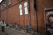 GRAFFITI  BY STIK, Chichester, 8 December 2016