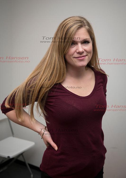 """OSLO,  20140225:  """"Det sterkeste kjønn"""" er programmet TV2 satser på denne våren.  Martine Aurdal.  FOTO: TOM HANSEN"""