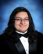 North Houston Early College High School valedictorian Cyrus Gordillo.