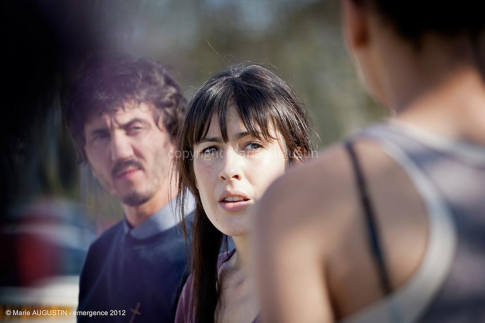 Olivia FOREST - tournage scène imposée de Stéphane DEMOUSTIER - emergence 2012