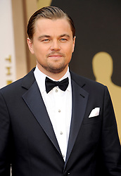Leonardo DiCaprio arriving to the 2014 Oscars at the Hollywood and Highland Center in Hollywood, California, USA,  Sunday, 2nd March 2014. Picture by Hollywood Bubbles / i-Images<br /> UK ONLY