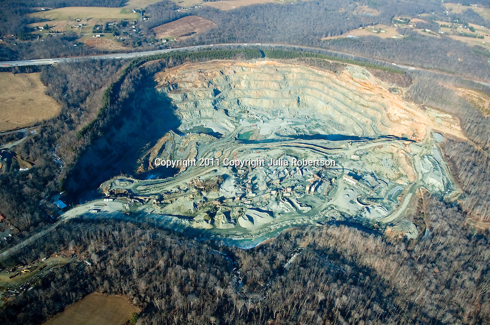 Aerial view of Maryland Quarry