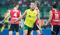 RAIPUR (India) .  Dylan Wotherspoon (Aus)   scored 3-0  (pc). Hockey Wold League Final  men . AUSTRALIA v CANADA  .. © Koen Suyk / Treebypictures