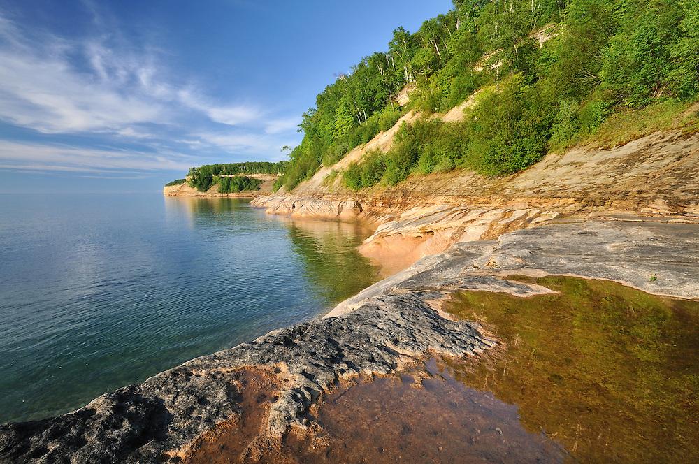 Pictured Rocks National Lakeshore<br /> <br /> Michigan's Upper Peninsula