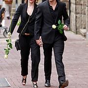 NLD/Amsterdam/20110722 - Afscheidsdienst voor John Kraaijkamp, William Spaaij en partner Noortje Herlaar