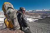 Climbing in the Chilean Atacama