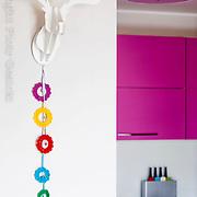 Small colorfull apartment interior