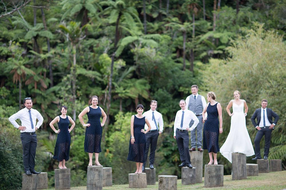 zac & sam's coromandel wedding photos at waterworks photography by felicity jean photography