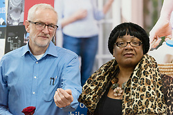© Licensed to London News Pictures. 03/03/2019. London, UK. British Labour Party leader visits Jeremy Corbyn MP and Diane Abbott MP visit Finsbury Park Mosque for Visit My Mosque Day. Photo credit: Ray Tang/LNP