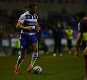 Reading's Hal Robson-Kanu during the Sky Bet Championship match between Reading and Bournemouth at the Madejski Stadium, Reading, England on 14 April 2015. Photo by Mark Davies.