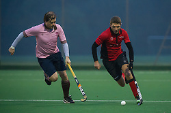 Southgate v Teddington - Men's Hockey League, East Conference, Trent Park, London, UK on 12 November 2016. Photo: Simon Parker
