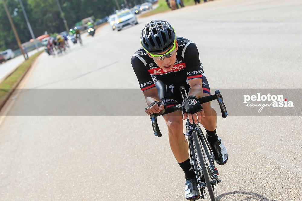 Le Tour De Langkawi 2015/Stage 4 - Kuala Terengganu - Kuantan/200km/Seo Joon Yong/KSPO