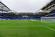 A general inside view of the Stamford Bridge Stadium before the Premier League match between Chelsea and Arsenal at Stamford Bridge, London, England on 4 February 2017. Photo by Jon Bromley.