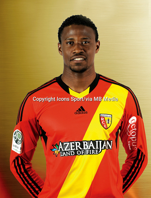 Deme N'DIAYE - 11.12.2013 - Photo officielle Lens - Ligue 2<br /> Photo : Rclens.fr / Icon Sport