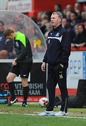 Plymouth Argyle Manager, John Sheridan looks on- Photo mandatory by-line: Nizaam Jones - Mobile: 07966 386802 - 28/03/2015 - SPORT - Football - Cheltenham - Whaddon Road - Cheltenham Town v Plymouth Argyle - Sky Bet League Two
