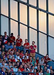 BLACKBURN, ENGLAND - Thursday, July 19, 2018: Liverpool supporters during a preseason friendly match between Blackburn Rovers FC and Liverpool FC at Ewood Park. (Pic by David Rawcliffe/Propaganda)