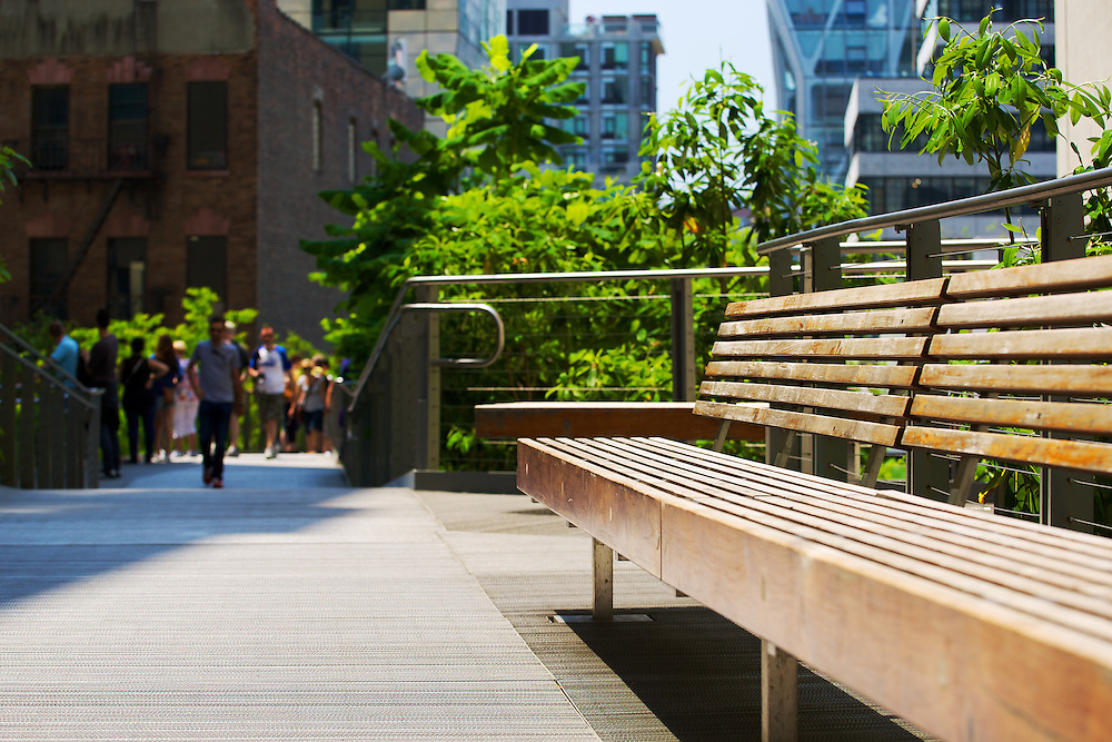 A front row seat to The High Line, New York.