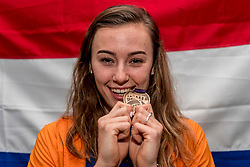 04-03-2018 GBR: World Indoor Championships Athletics day 4, Birmingham<br /> Nadine Visser NED, brons 60 Metres Hurdles