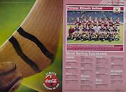 All Ireland Senior Hurling Championship - Final,.01.09.1996, 09.01.1996, 1st September 1996,.01091996AISHCF, .Wexford v Limerick,.Wexford 1-13, Limerick 0-14,.Coca Cola, ..Galway Minor Team, Back row, Eugene Cloonan, David Loughrey, Aidan Poinard, Shane McClearn, Eda Tannian, Kevin Coy, Ritchie Brady, Cathal O'Reilly, .Front row, Rory Gantley, Eugene McEntee, Ronan Cullinane, Micheal Healy, Nigel Murray, Martin Blake, Colin Coen, Darren Shaughnessy,