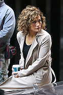 New York - Shades Of Blue Film Set - 05 Oct 2016