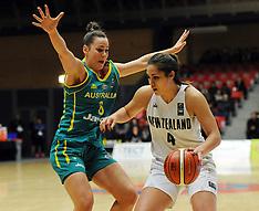 Tauranga-Basketball, New Zealand v Australia, women